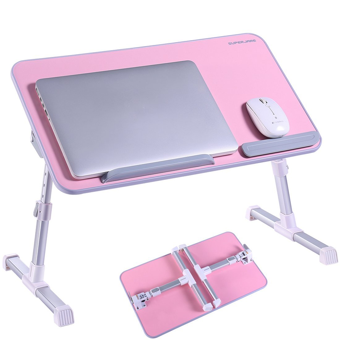 Pink Portable Laptop Table Stand Desk Just Pink About It